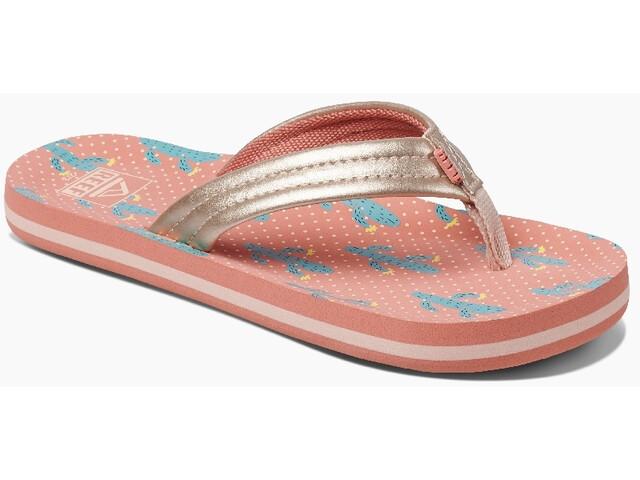 Reef Ahi Sandals Girls, cactus